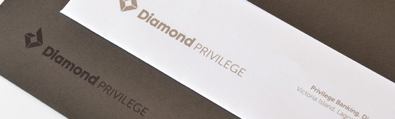 Diamond Bank Corporate Stationery
